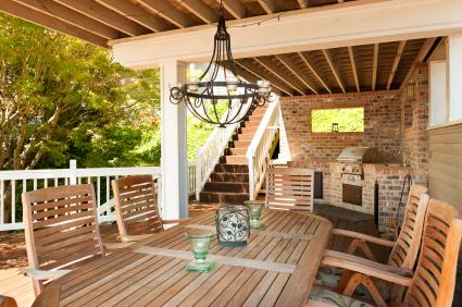 Deck building in Spring TX by GeniePro Construction, LLC